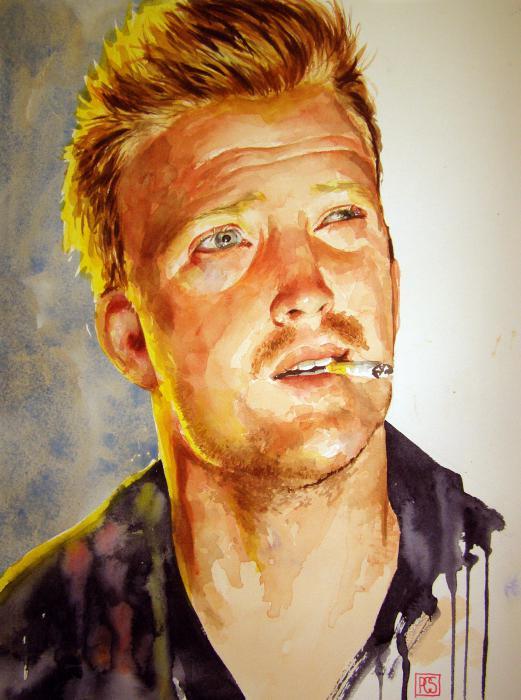 Portrait Of Josh Homme By PennyCS On Stars Portraits
